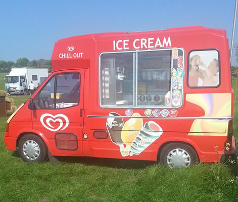 Ice cream van hire Buckinghamshire